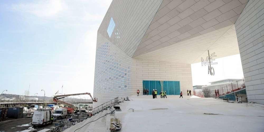 L'étonnant bâtiment de la MECA futur temple de la culturel